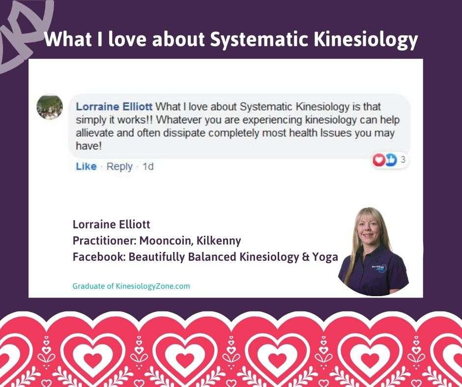 Lorraine Elliott Systematic Kinesiology