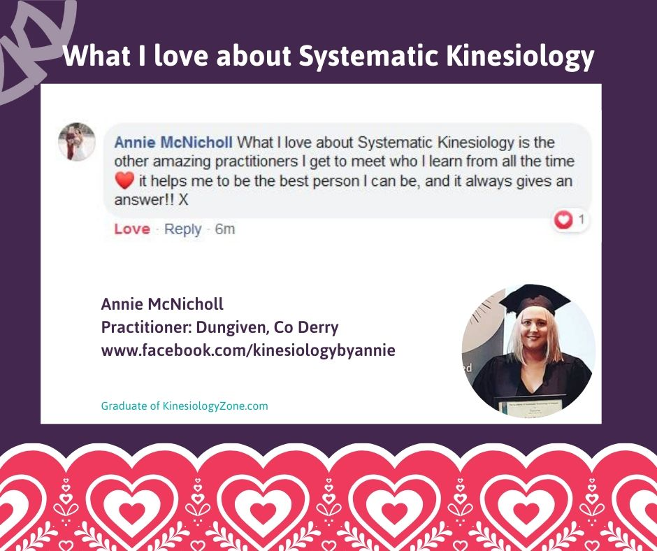 Annie McNicholl Systematic Kinesiology