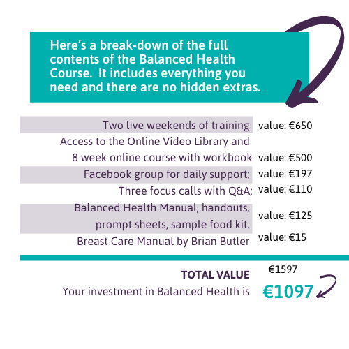 Balanced Health course price